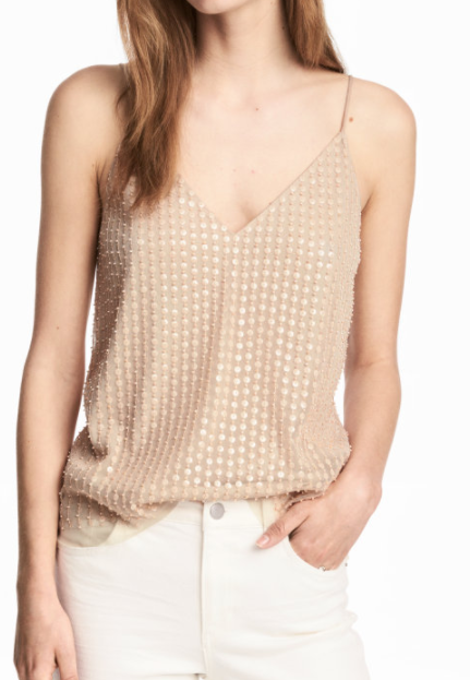 HM Mesh Camisole Top