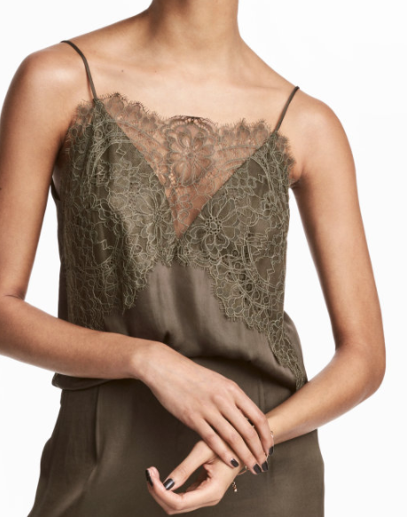 HM Camisole Top with Lace