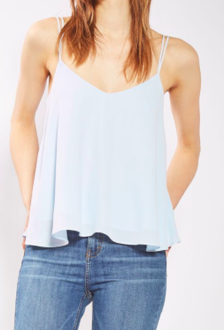 Topshop Rouleau Swing Camisole Top