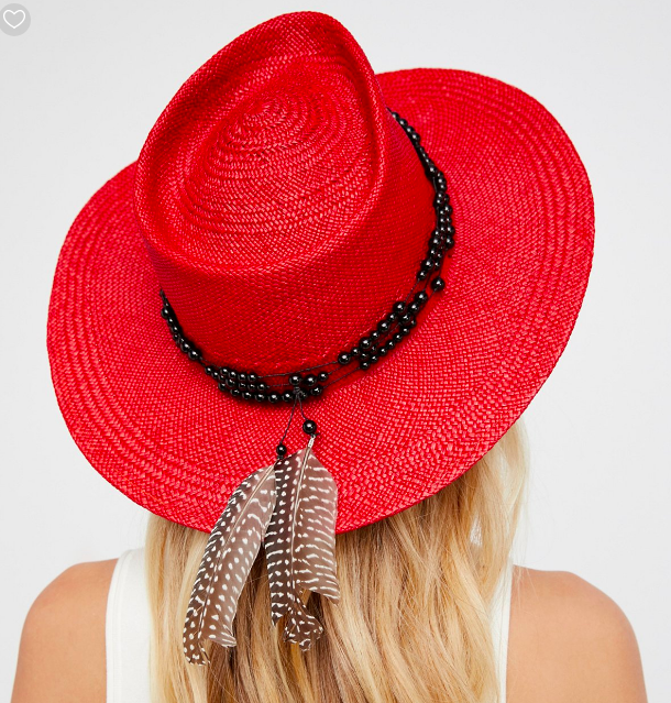 FP Dean Straw Panama Hat