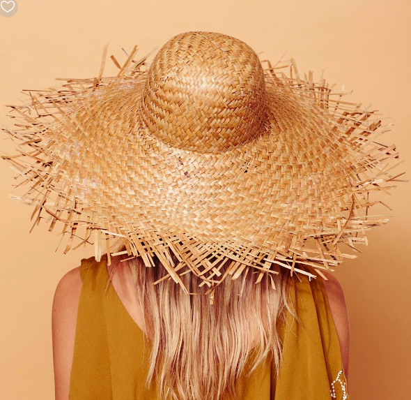 Lack of Colour Russo Oversized Straw Hat