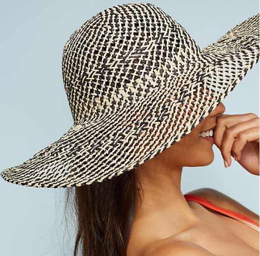 Anthropologie Algarve Floppy Hat