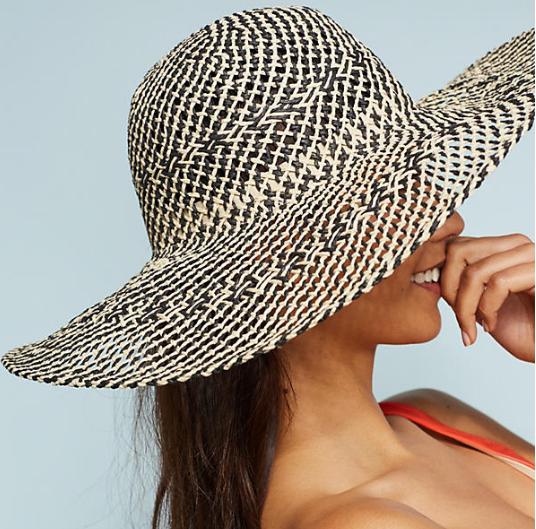 Anthropologie Algarve Floppy Hat