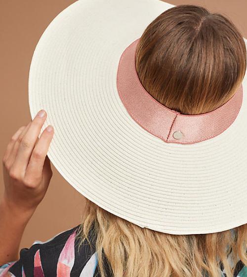 Tracy Watts Palermo Open-Top Sun Hat