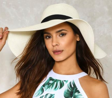 Nasty Gal Ain't No Sunshine Floppy Hat