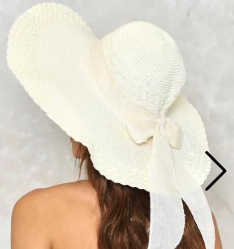Nasty Gal Bow News Floppy Hat