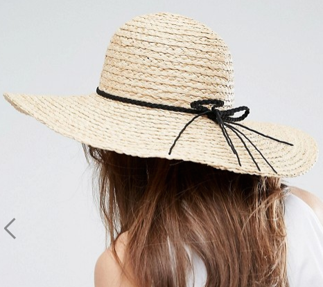 ASOS Natural Floppy Hat Braid Band
