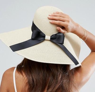 ASOS Floppy Straw Hat