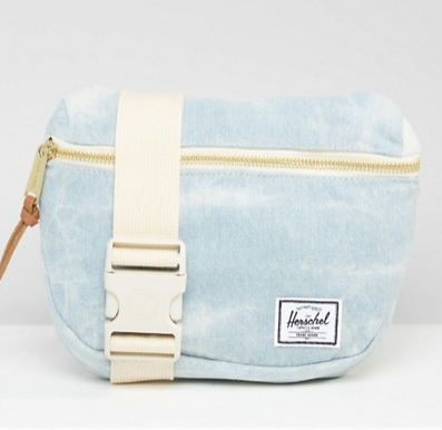 Herschel Supply Co. Fifteen Bleach Denim Fanny Pack
