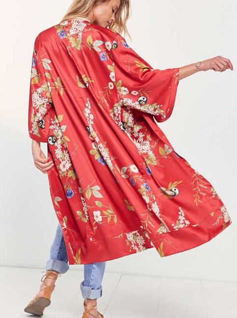 Kimchi Blue Isabel Longline Kimono