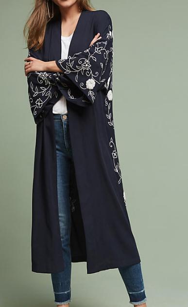 Anthropologie Petunia Kimono