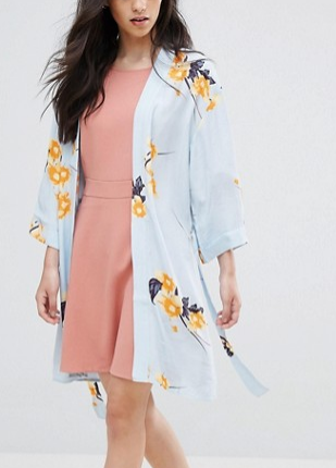 Vila Summer Floral Kimono