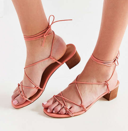 UO Isa Strappy Heel