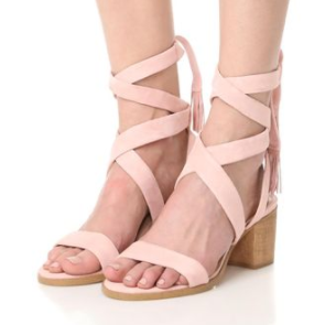 872f9b6471 Mid Heeled Sandals Under $150 | Truffles and Trends