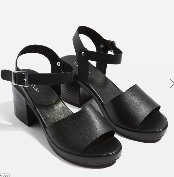 Topshop DABBLE Two Part Sandals