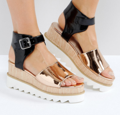 ASOS TERRESTRAIL Wedge Sandals