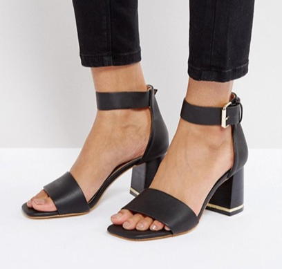ASOS TREE TOP Heeled Sandals