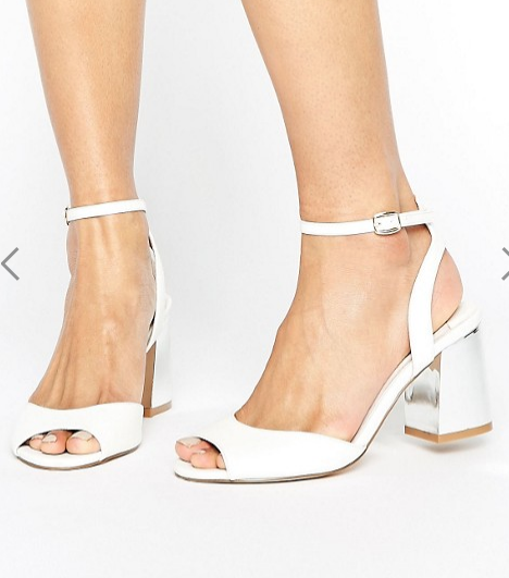 Faith Danica Block Heel Sandals