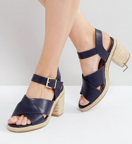 ASOS TAP DANCER Espadrille Heeled Sandals