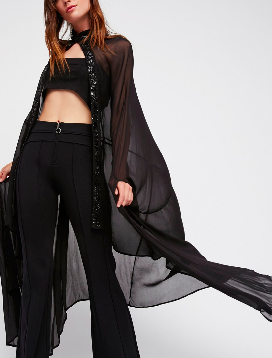 NFC Wicked Work Sheer Cape