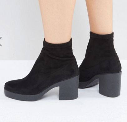 Miss Selfridge Platfrom Ankle Boot