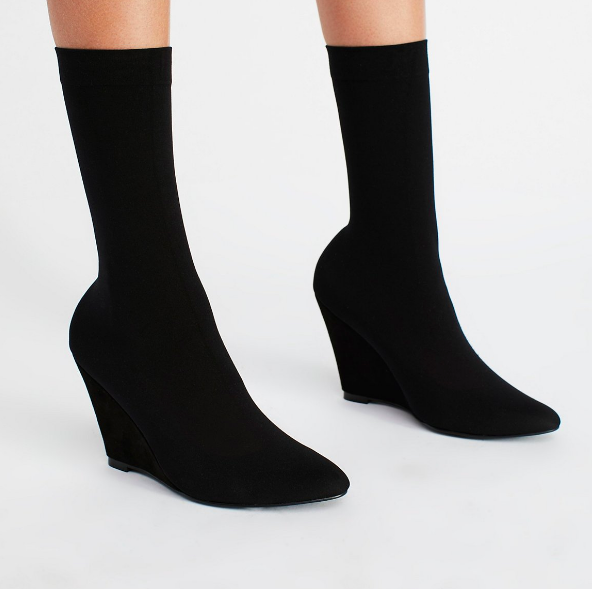 FP Vegan Luxe Sock Boot