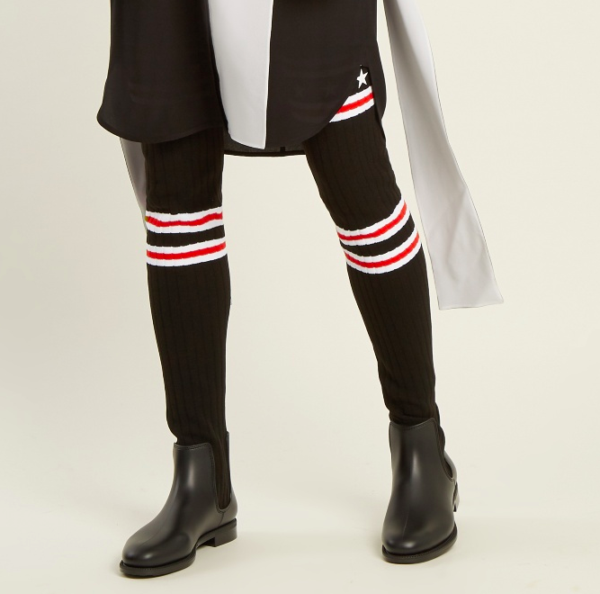Storm Over the Knee Sock Boot GIVENCHY