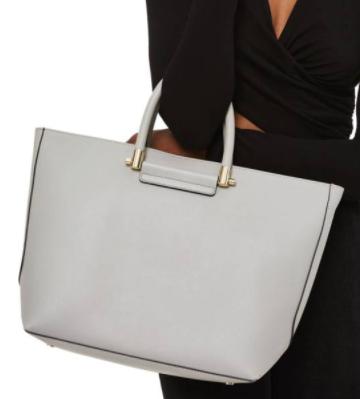 Simona Faux Leather Shopper TOPSHOP