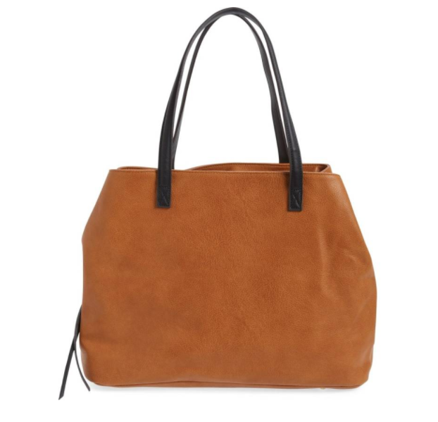 Millar Faux Leather Tote SOLE SOCIETY