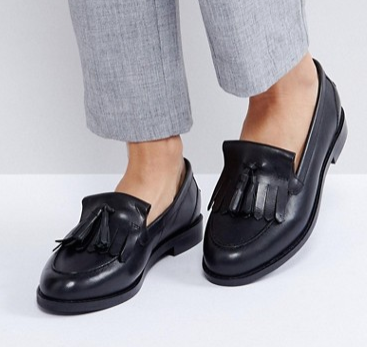ASOS MAXWELL Leather Loafers