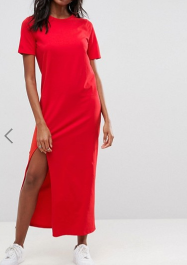 ASOS Ultimate T-Shirt Maxi Dress