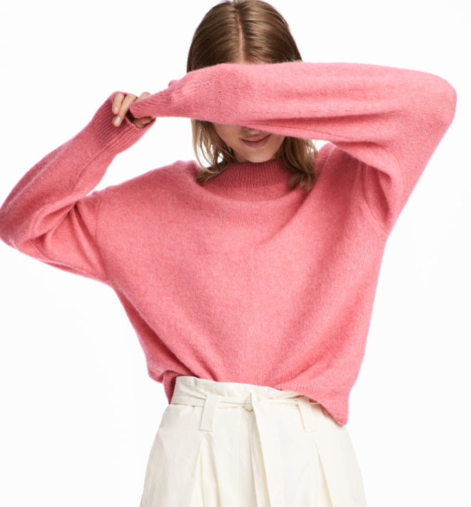 HM Knit Mohair-blend Sweater