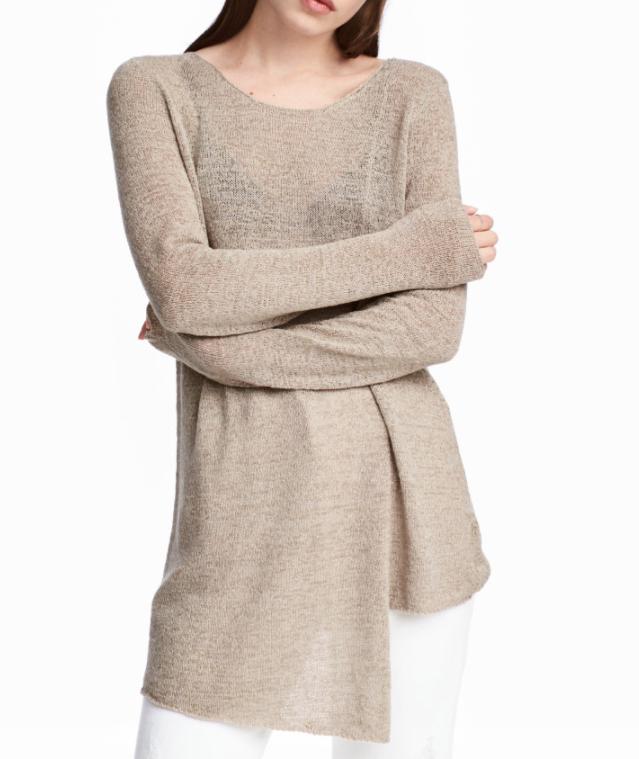 HM Asymmetric Sweater