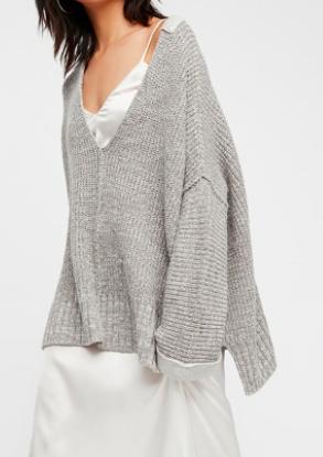 FP Take Me Over V-Neck Sweater