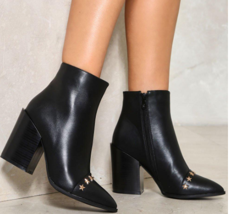 Don't Stop Me Now Vegan Leather Boot