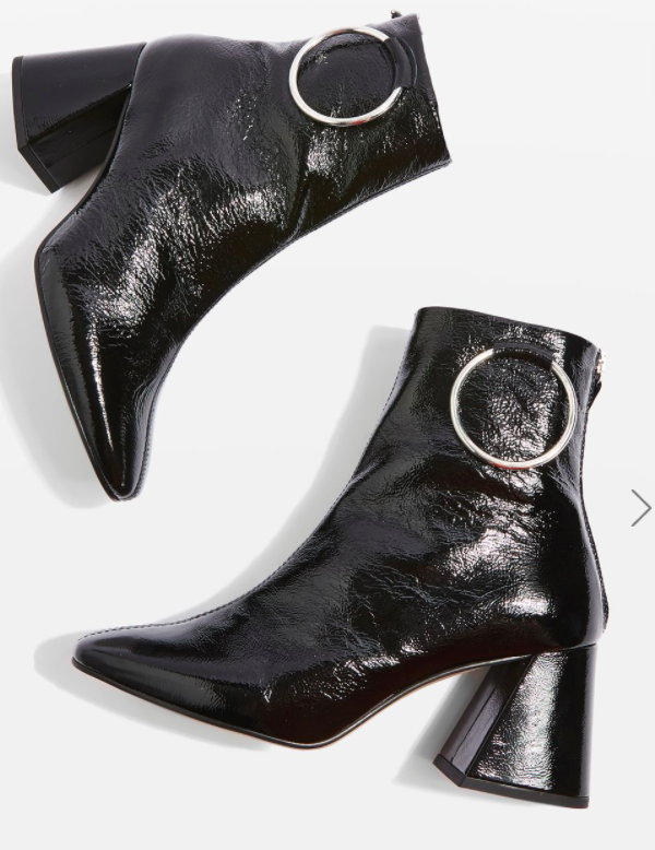 Topshop MIA Ring Boots