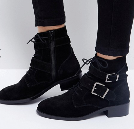 ASOS ACTION Suede Ankle Boots