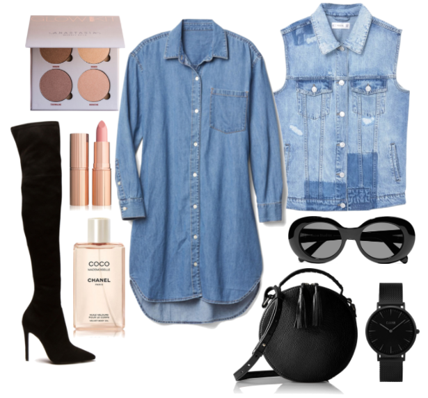 Double Denim: Outfit Ideas | TrufflesandTrends.com