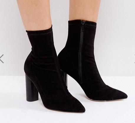 Office London Sock Heeled Ankle BootsOffice London Sock Heeled Ankle Boots