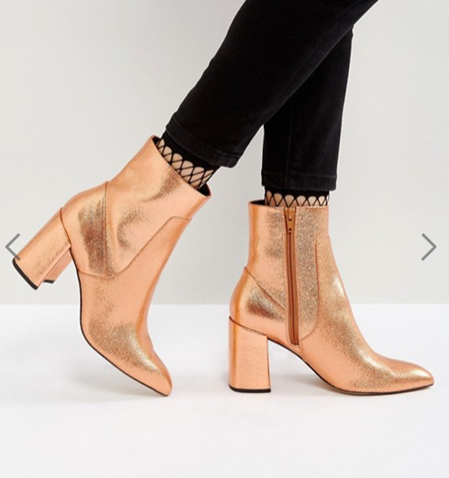 ASOS EAGLE EYE Point High Ankle Boots