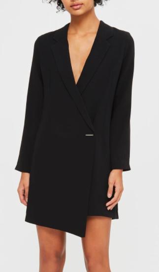 Topshop PETITE Asymmetric Blazer Dress