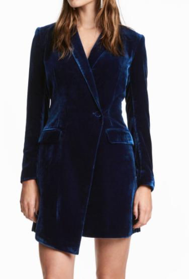 HM Velvet Jacket