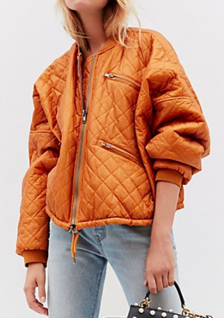 FP Easy Quilted Bomber