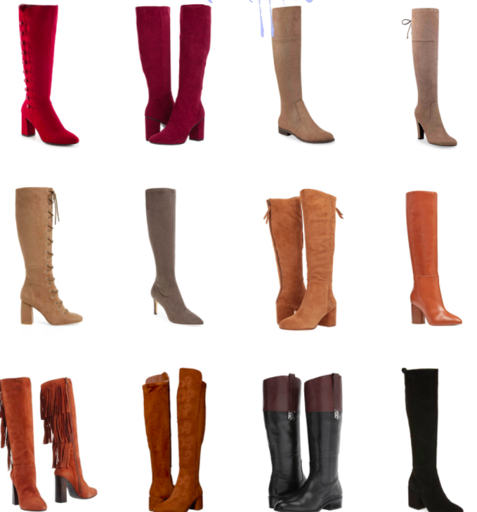 Knee Boots Under $200   Truffles and Trends