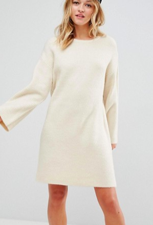 ASOS Knitted Oversized Mini Dress
