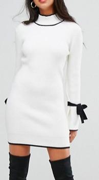 Morgan Tie Sleeve Dress