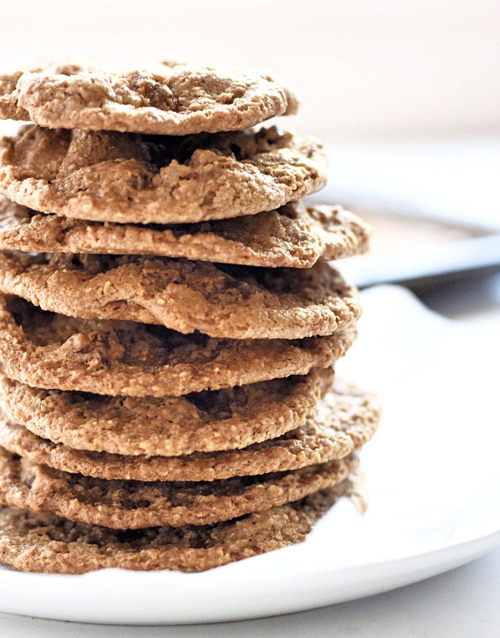 Gluten-Free Chewy Pecan Cookies | TrufflesandTrends.com
