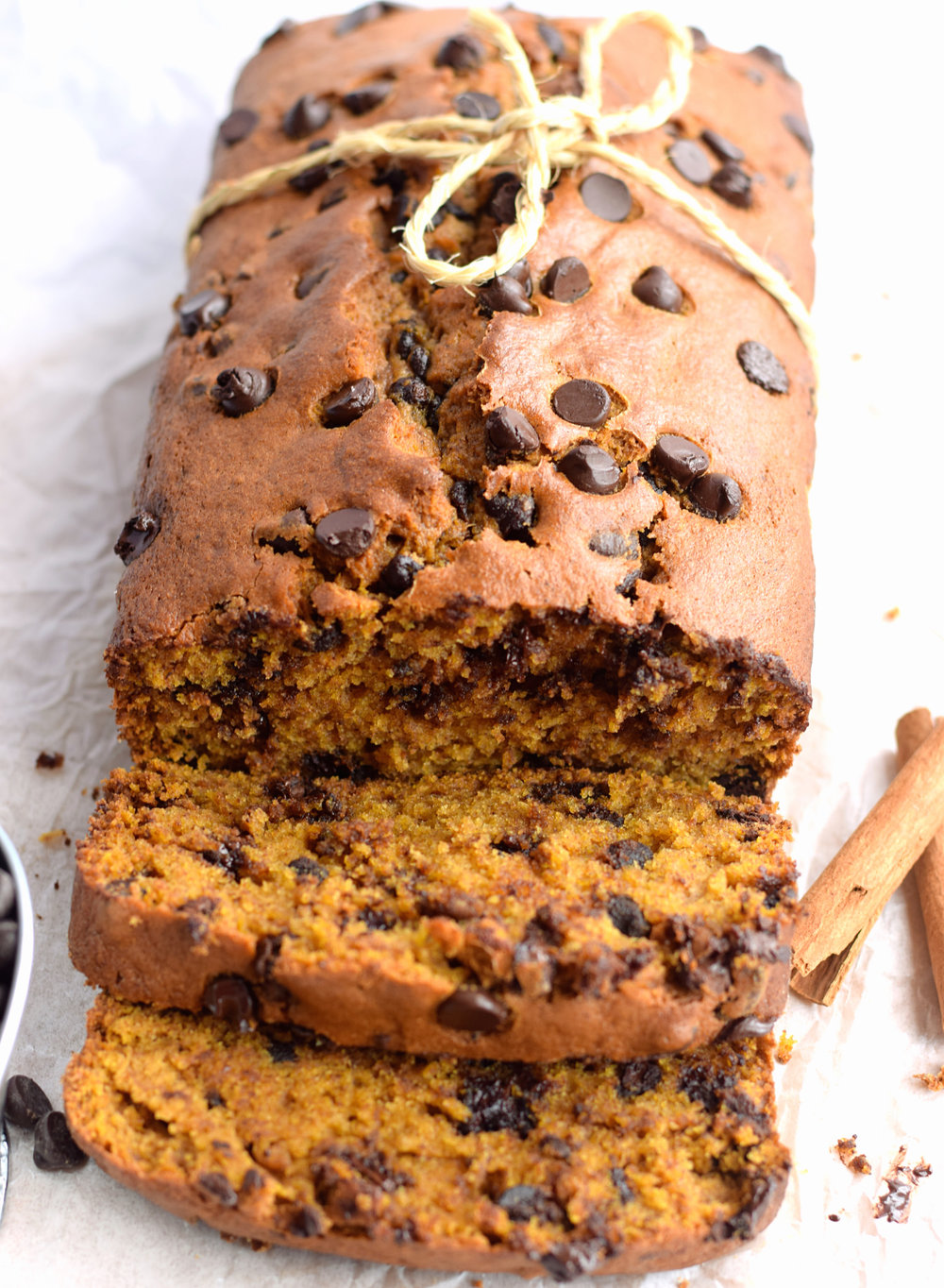 Pumpkin Chocolate Chip Bread | TrufflesandTrends.com