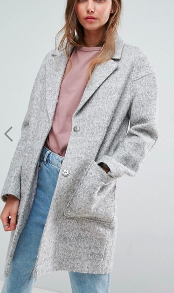 ASOS Textured Coat