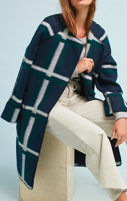NVLT Margot Plaid Coat